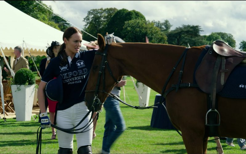 La Martina x Oxford Polo Shirt Worn by Laura Haddock in Transformers 5 The Last Knight (5)