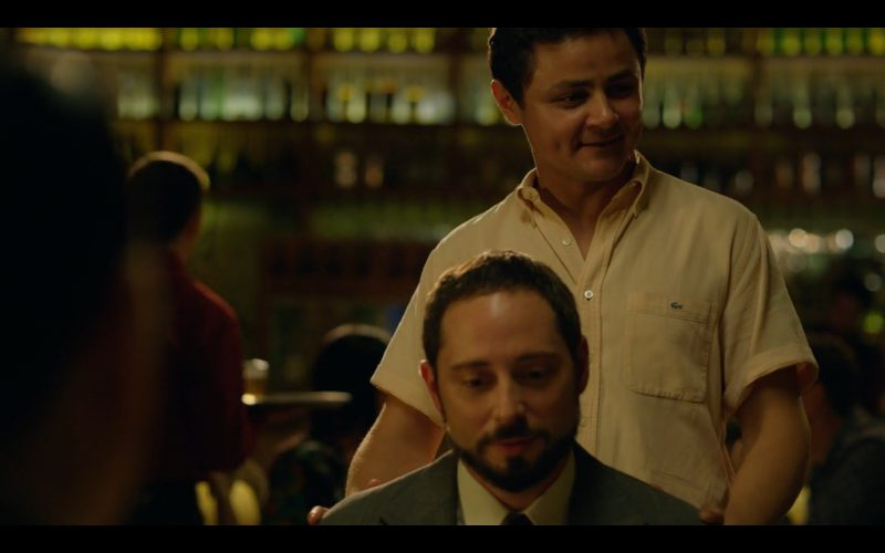 Lacoste Men's Shirt - Narcos TV Show Product Placement