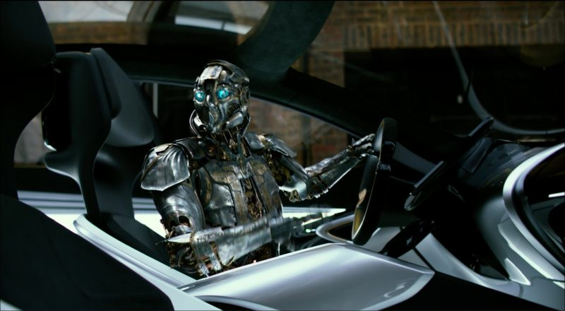 LeEco LeSee Concept Car in Transformers 5: The Last Knight (2017) Movie Product Placement