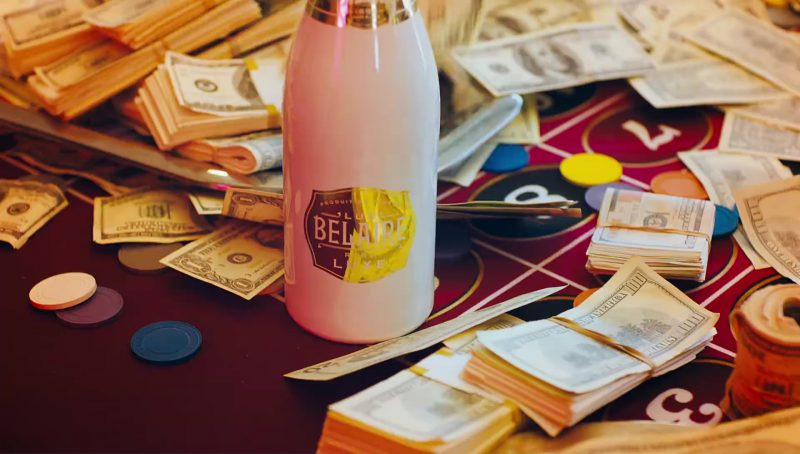Luc Belaire Luxe Sparkling Wine in I Get The Bag by Gucci Mane feat. Migos (2017) - Official Music Video Product Placement