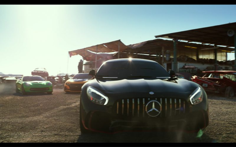 Mercedes-AMG GT R Car-Autobot in Transformers 5 The Last Knight (12)