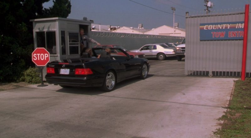Mercedes-Benz SL500 in Dude, Where's My Car? (2000) Movie Product Placement