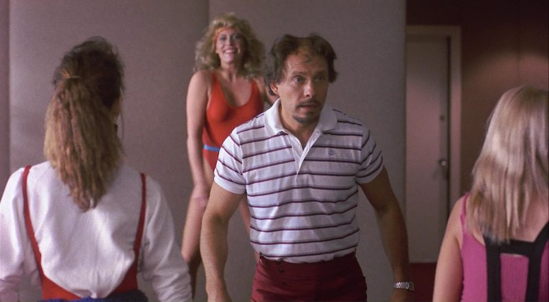 Nike Men's Polo Shirt Worn by Héctor Elizondo in Private Resort (1985) - Movie Product Placement