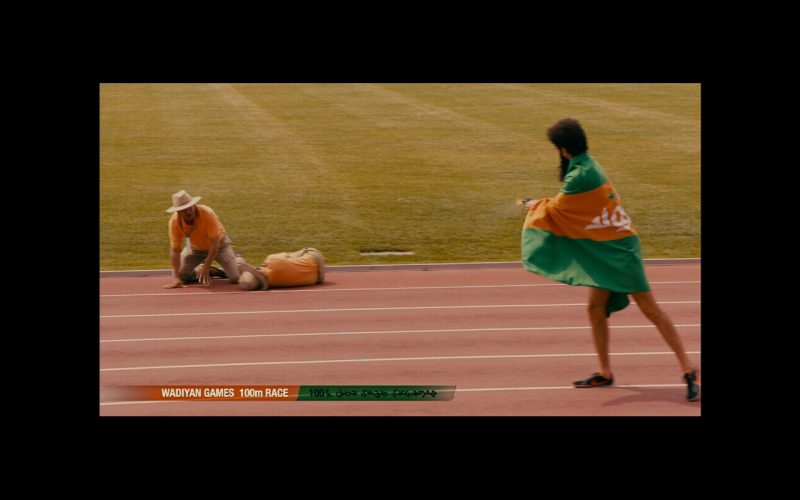 Nike Sneakers - The Dictator (2012) Movie Product Placement