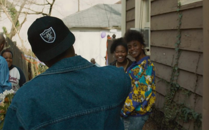 Oakland Raiders Cap Worn by Demetrius Shipp Jr. in All Eyez on Me (1)