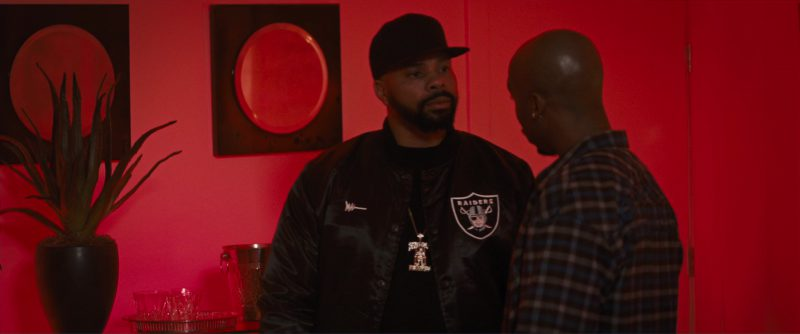 Oakland Raiders Men's Jacket – All Eyez on Me (2017) - Movie Product Placement