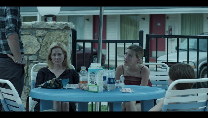 "Organic Valley Milk and Vitaminwater in ""Ozark"" Blue Cat (2017) TV Show Product Placement"