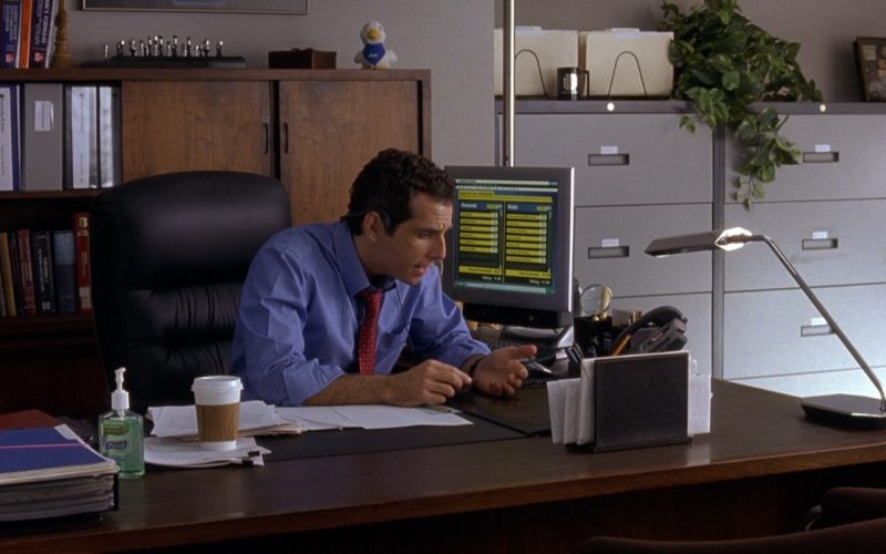 PURELL Advanced Hand Sanitizer Used By Ben Stiller In Along Came Polly (2004)
