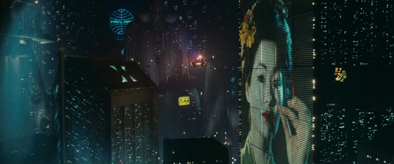 Pan Am in Blade Runner (1982) Movie Product Placement