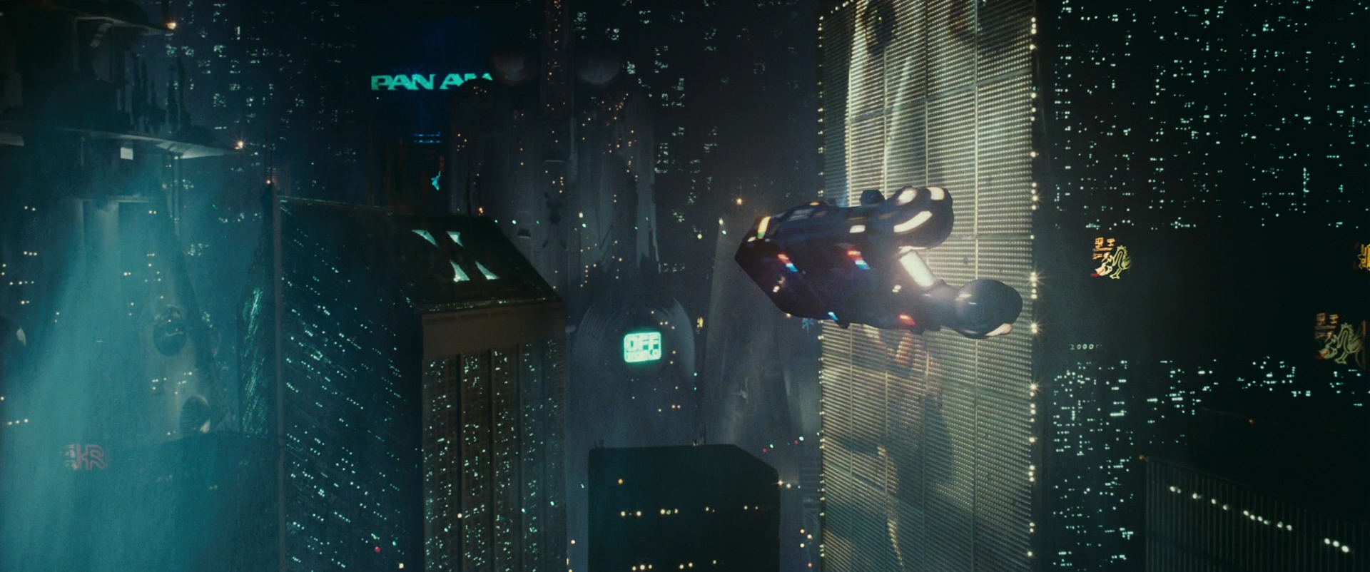 Pan Am In Blade Runner 1982 Movie