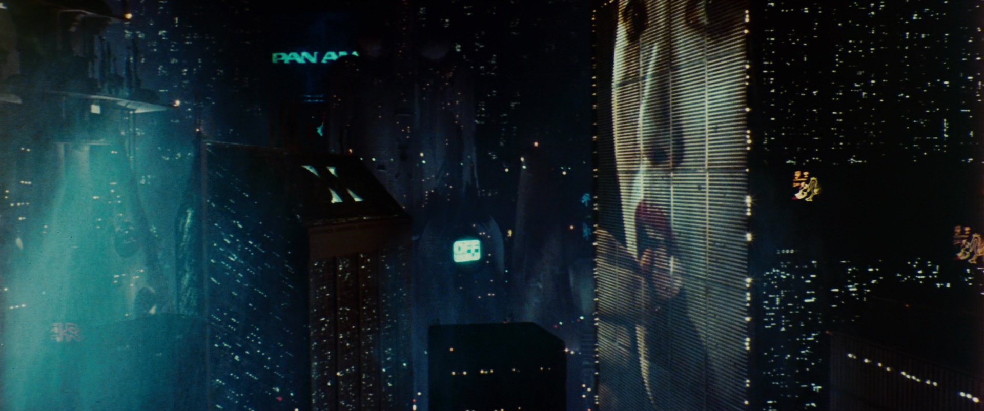 Pan Am In Blade Runner 1982 Movie