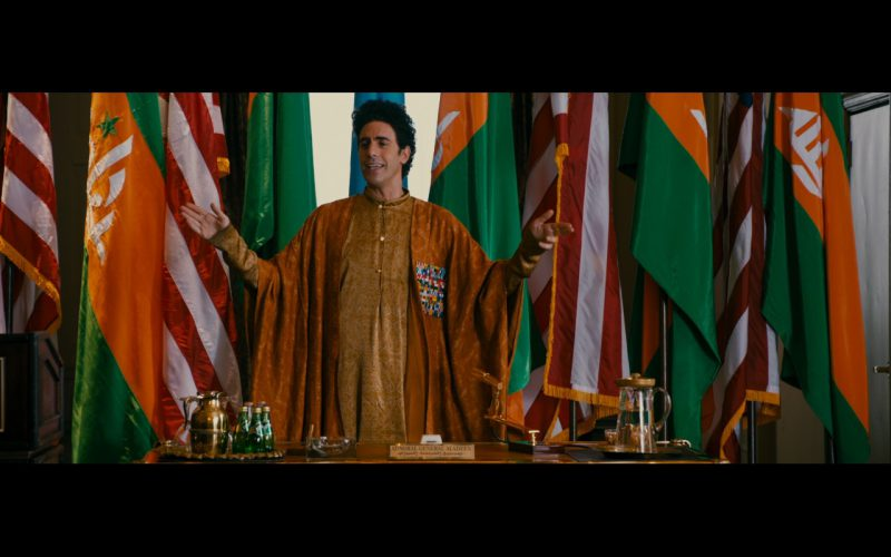 Perrier Mineral Water – The Dictator (2012) - Movie Product Placement