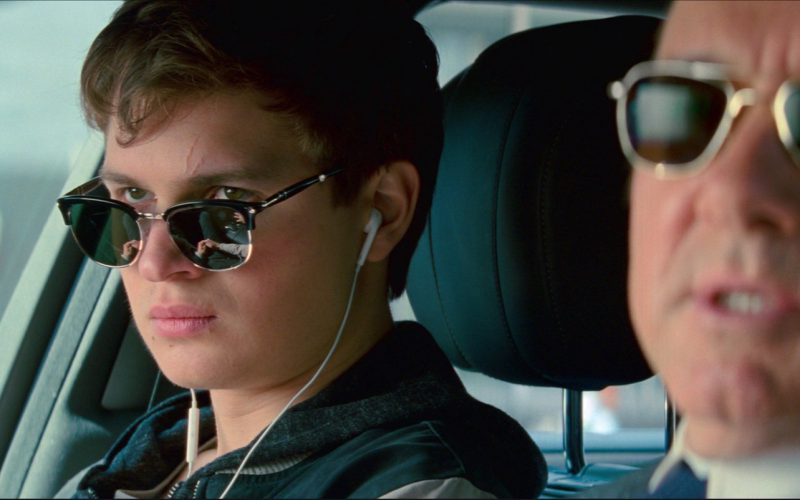 Persol PO3132S Sunglasses Worn by Ansel Elgort in Baby Driver