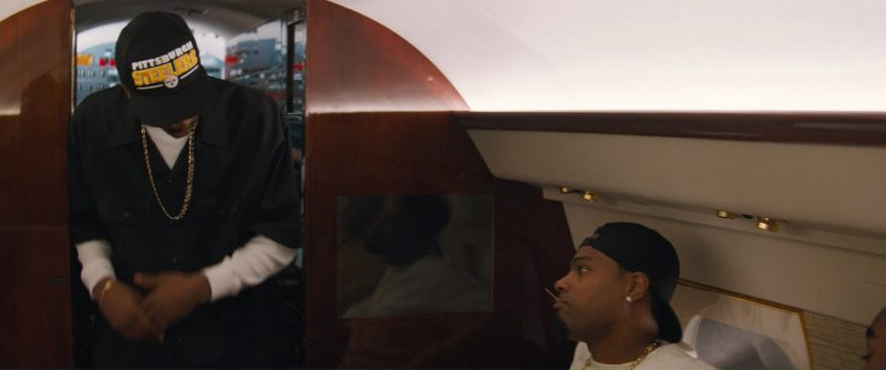 Pittsburgh Steelers  Cap - All Eyez on Me (2017) - Movie Product Placement