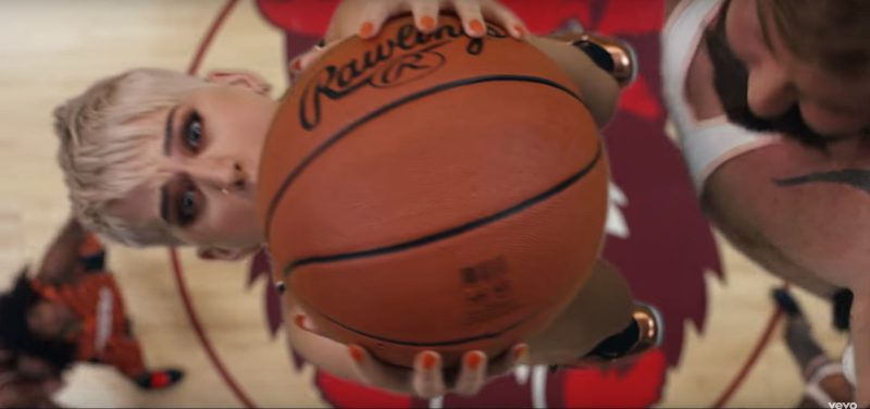 Rawlings Basketballs in Swish Swish by Katy Perry ft. Nicki Minaj (2017) - Official Music Video Product Placement