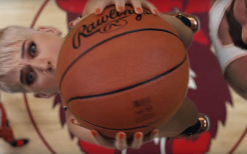 Rawlings Basketballs in Swish Swish by Katy Perry ft. Nicki Minaj (3)