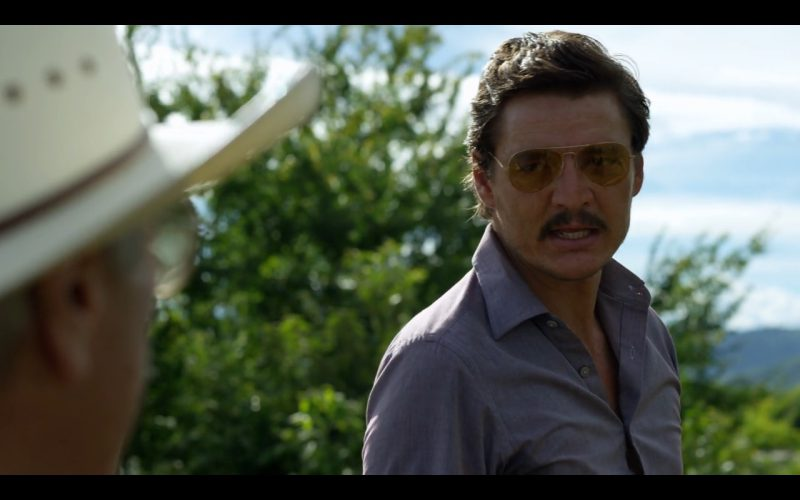Ray-Ban Aviator Sunglasses - Narcos TV Show Product Placement