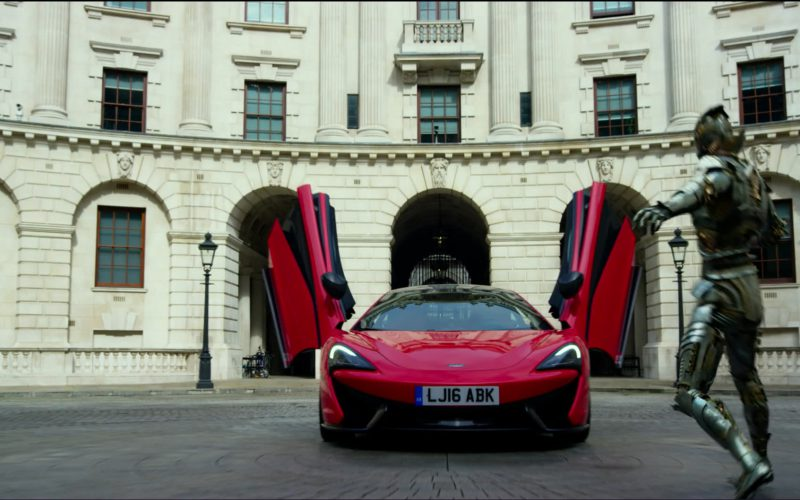Red McLaren 570S Car in Transformers 5 The Last Knight (1)