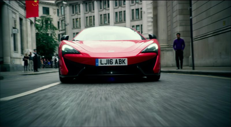 Red McLaren 570S Car in Transformers 5: The Last Knight (2017) Movie Product Placement