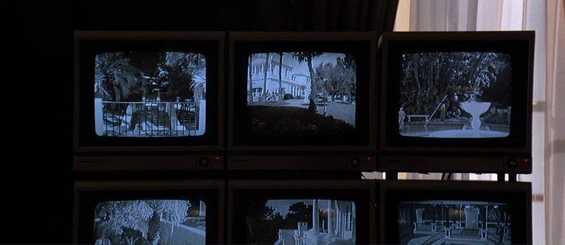 Sanyo TV/Monitors - Scarface (1983) - Movie Product Placement