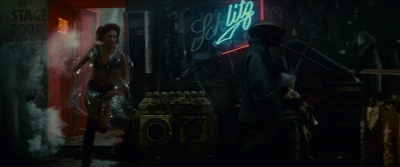 Schlitz Neon Sign in Blade Runner (1982) Movie Product Placement