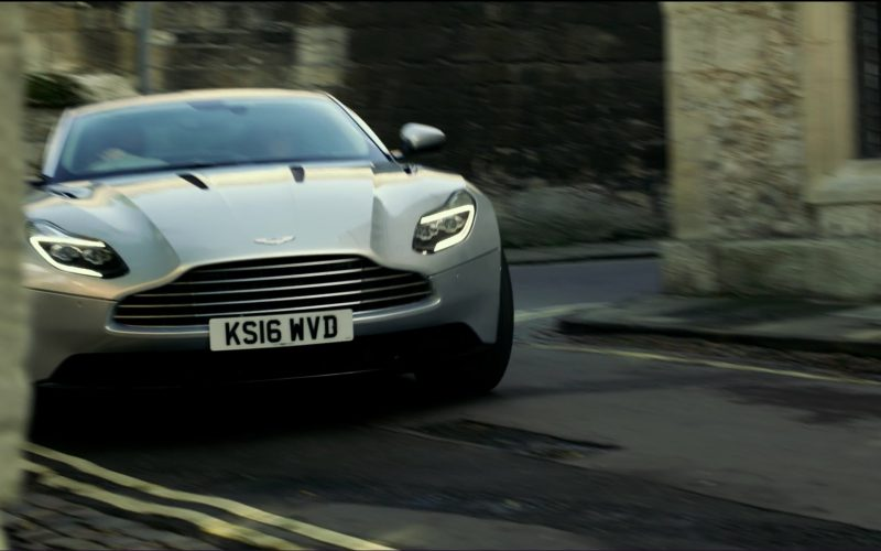 Silver Aston Martin DB11 in Transformers 5 The Last Knight (5)