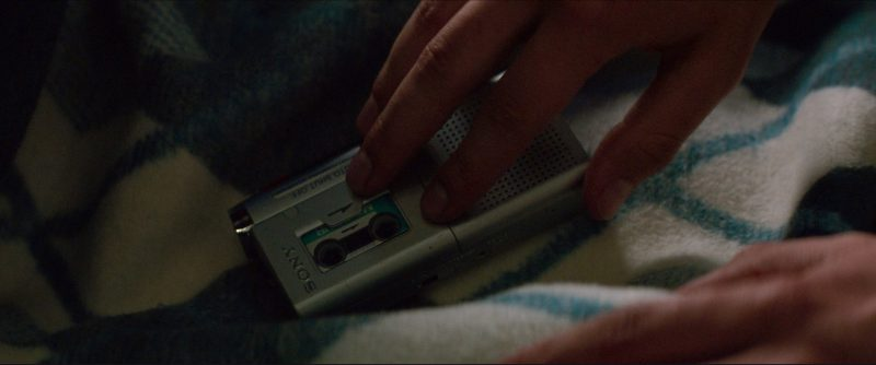 Sony Dictaphone Used by Ansel Elgort in Baby Driver (2017) Movie Product Placement