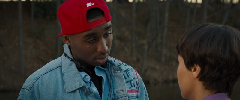 Starter Red Cap Worn by Demetrius Shipp Jr. in All Eyez on Me (2017) - Movie Product Placement