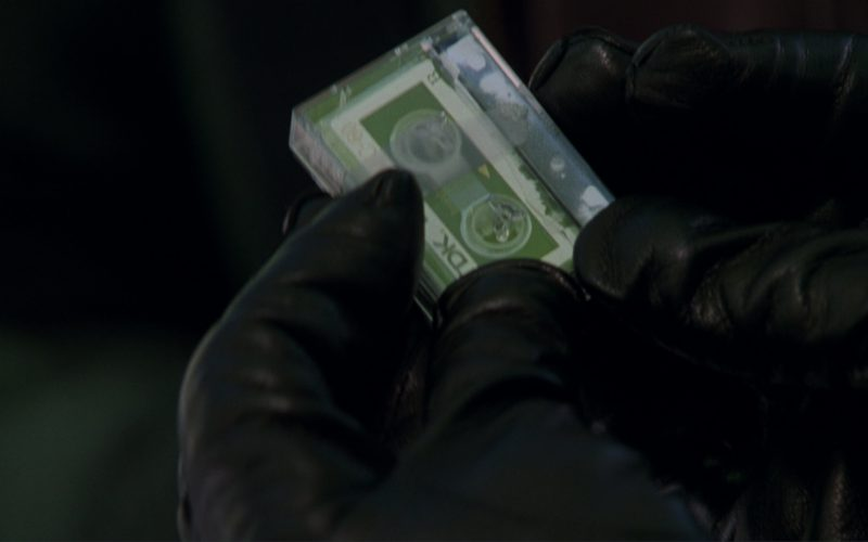 TDK Compact Cassette in A Perfect Murder (1998)