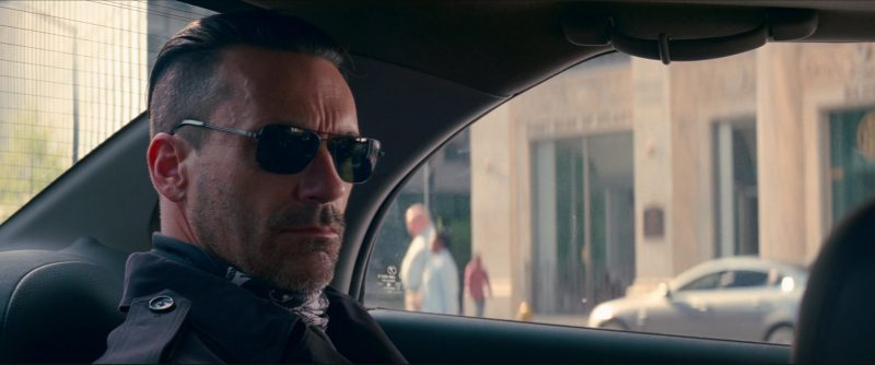Tavat Chinook I Sunglasses Worn by Jon Hamm in Baby Driver (2017) Movie Product Placement