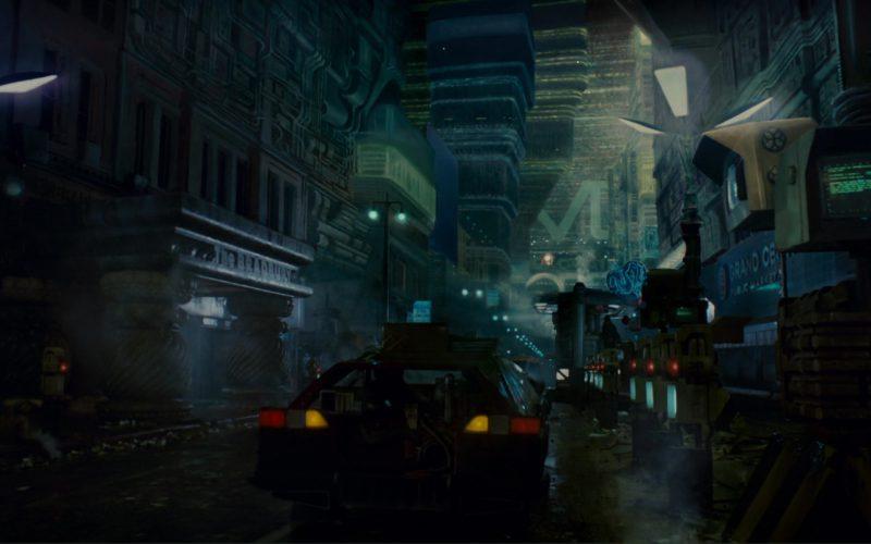 The Bradbury Building in Blade Runner (1)