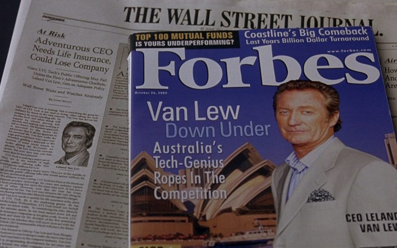 The Wall Street Journal & Forbes – Along Came Polly (2004)