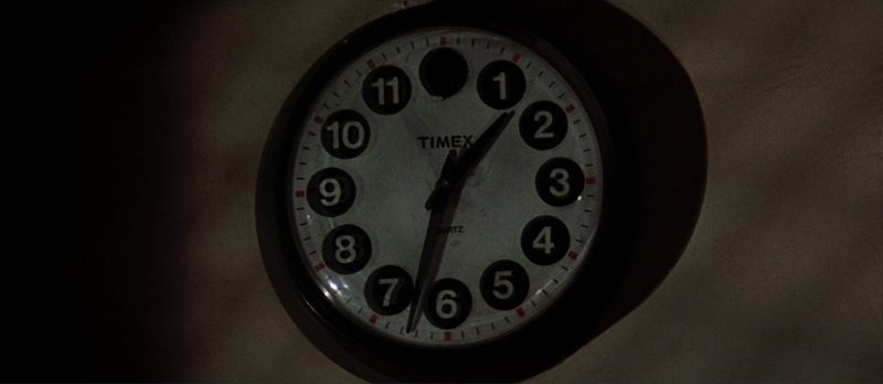 Timex Wall Clock – Scarface (1983) - Movie Product Placement