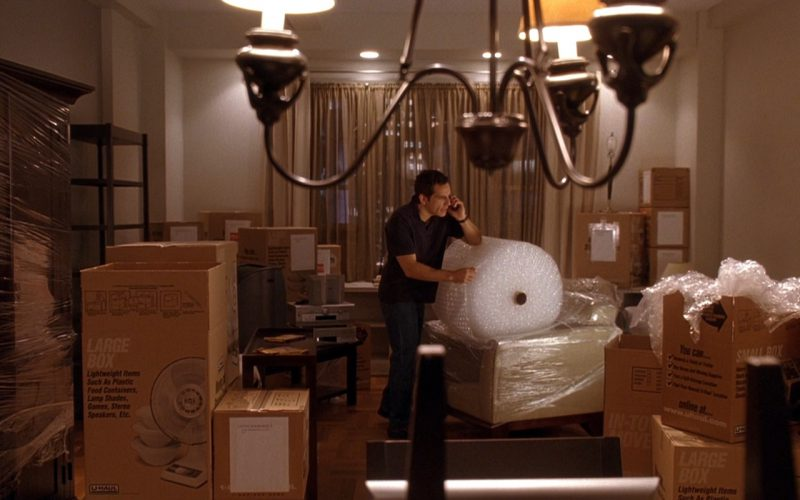 U-Haul Moving and Storage Boxes - Along Came Polly (2004) - Movie Product Placement