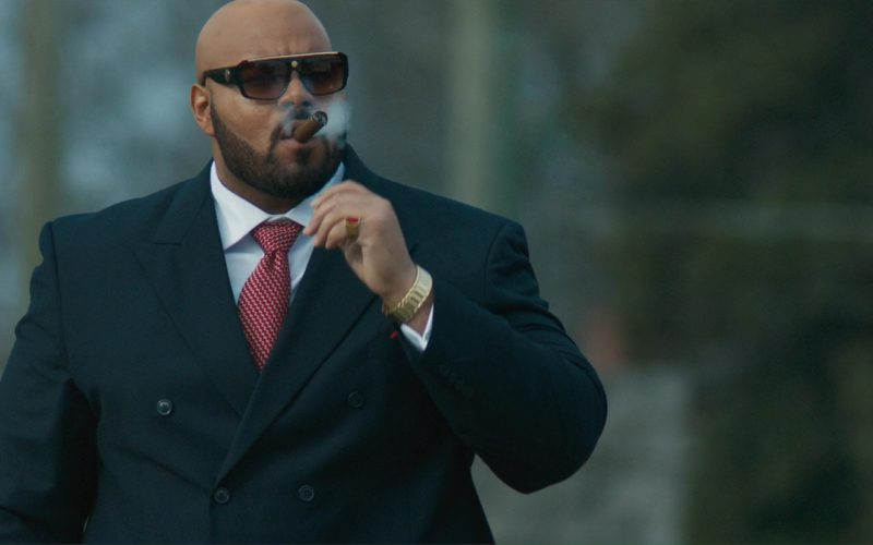 a5bd47da056c Versace Sunglasses Worn by Dominic L. Santana In All Eyez on Me (2017)