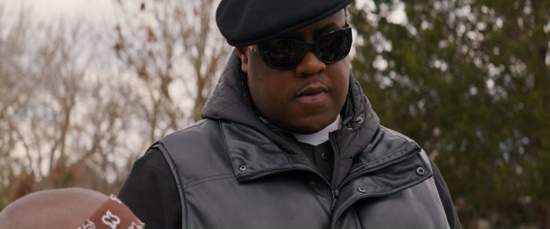 Versace Sunglasses Worn by Jamal Woolard In All Eyez on Me (2017) Movie Product Placement