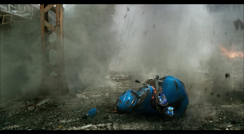 Vespa Scooter (Squeeks Autobot) in Transformers 5: The Last Knight (2017) Movie Product Placement