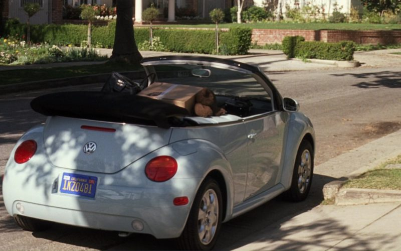 Volkswagen Beetle Cabriolet Car – The Girl Next Door (1)