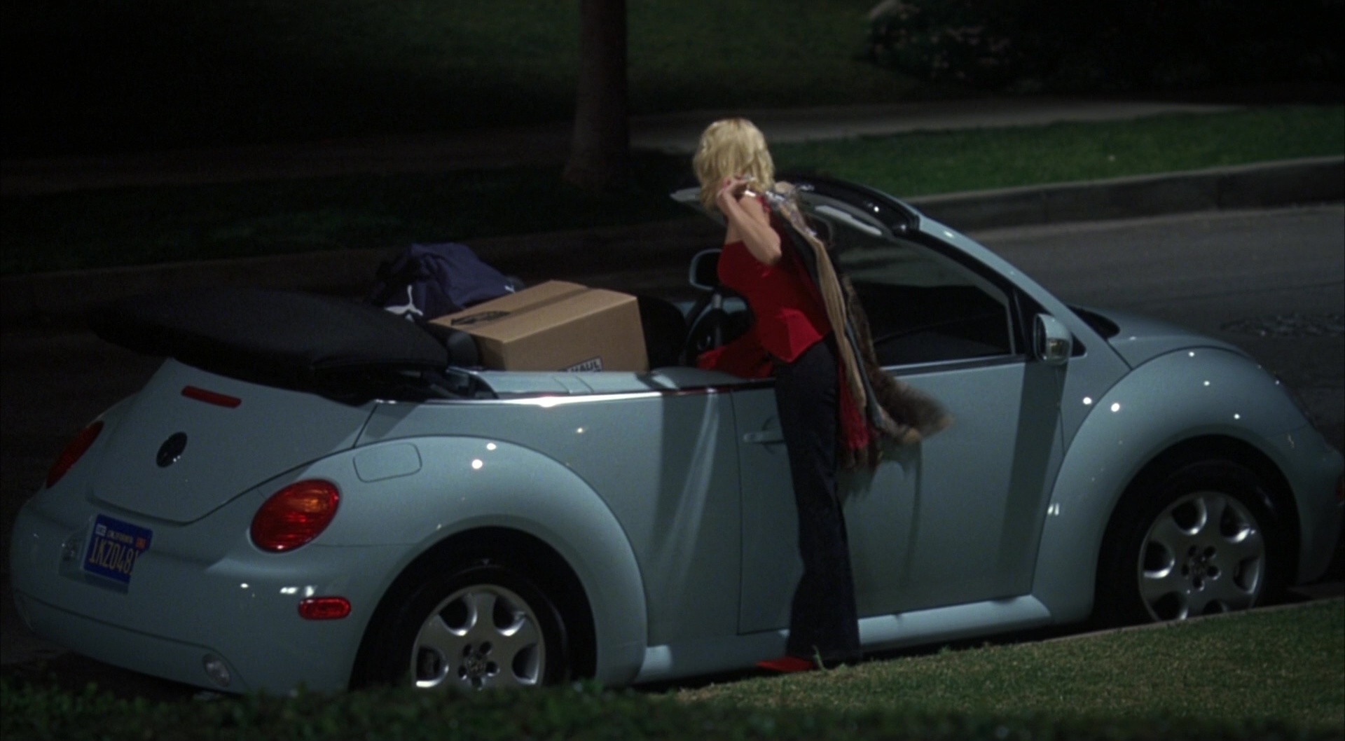 Volkswagen Beetle Cabriolet Car The Girl Next Door 2004