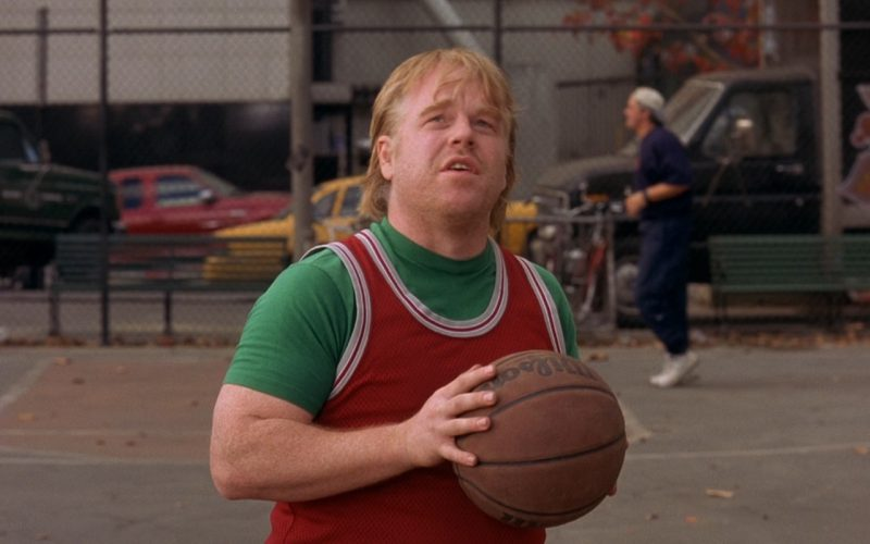 Wilson Basketball (Ball) Used by Ben Stiller and Philip Seymour Hoffman in Along Came Polly (2004) - Movie Product Placement