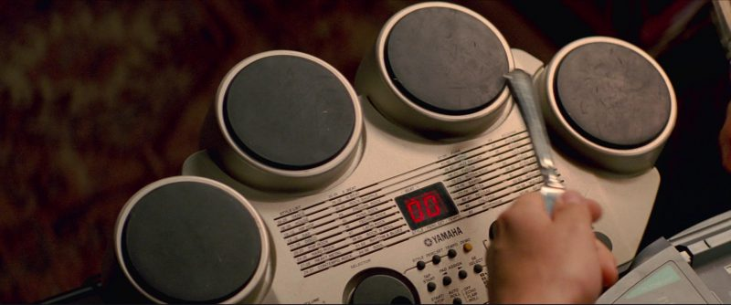 Yamaha Compact Digital Drum in Baby Driver (2017) Movie Product Placement
