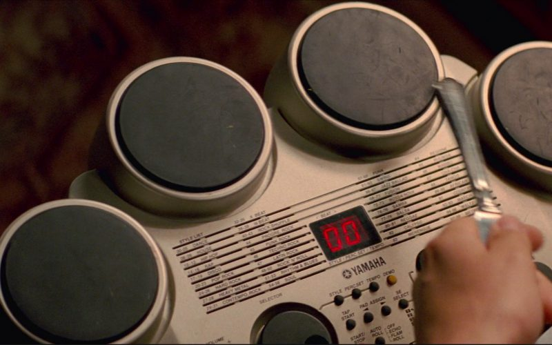 Yamaha Compact Digital Drum in Baby Driver