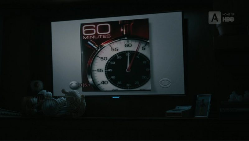 60 Minutes TV Show in The Wizard of Lies (2017) Movie Product Placement