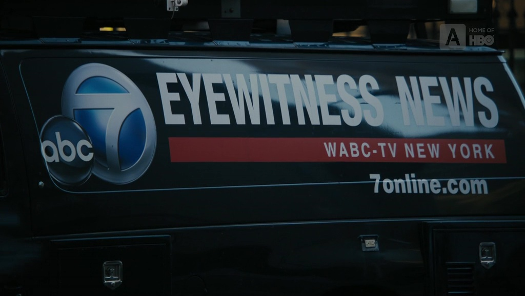 ABC 7 TV Channel In The Wizard Of Lies 2017 Hollywood Movie Product Placement