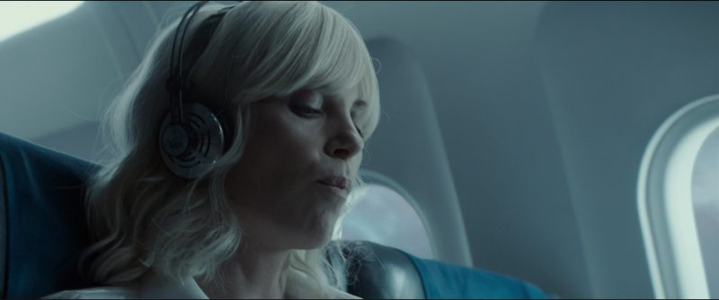 AKG K140 Headphones used by Charlize Theron in Atomic Blonde (2017) Movie Product Placement