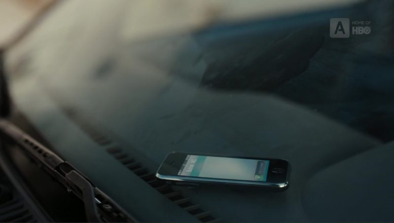 Apple iPhone 3G/3GS Used by Kristen Connolly (Stephanie Madoff) in The Wizard of Lies (2017) Movie Product Placement