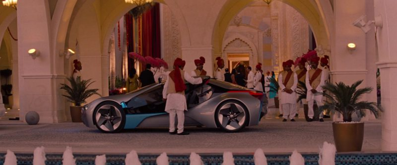 BMW Vision EfficientDynamics Car in Mission: Impossible - Ghost Protocol (2011) Movie Product Placement
