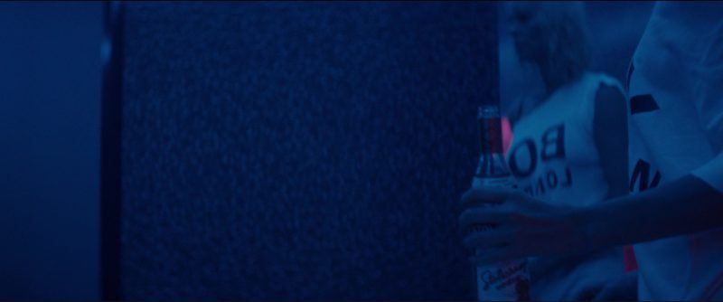 BOY London T-Shirt And Stolichnaya Vodka in Atomic Blonde (2017) Movie Product Placement
