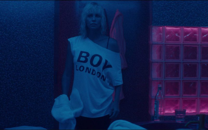 BOY London T-Shirt Worn by Charlize Theron in Atomic Blonde (1)