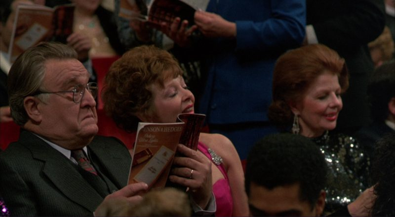 Benson & Hedges cigarettes advertising in Moonstruck (1987) Movie Product Placement